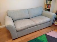 Sofa Bed 2 seater fold out mattress sprung with cushions sofabed double