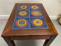 Beautiful Danish Mid Century Tiled Coffee Table by Trioh - Vintage Retro