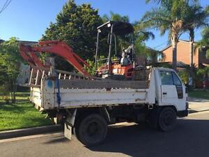 MINI EXCAVATOR / RUBBISH REMOVAL North Ryde Ryde Area Preview