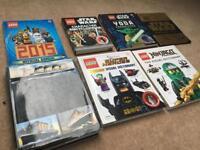 Set of children's books. Lego Batman / Star Wars