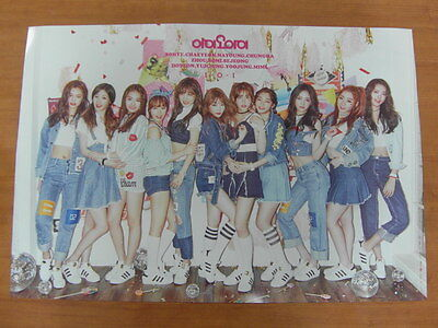 I.O.I - Chrysalis 1st Mini Album [OFFICIAL] POSTER K-POP *NEW* 101 IOI