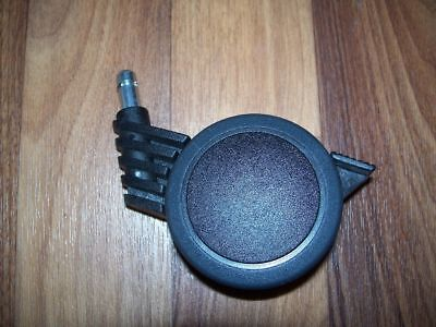 """TRANSPORTROLLE """"Lenkrolle mit Bremse"""" 72x42,Stift,Apparate-Rollen,Kunststoff"""