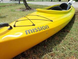 Mission Access 400 Tandem Kayak Yellow/Green Tea Gardens Great Lakes Area Preview