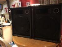Eminance disco speakers (1000 watts of power) passive with good bass x x x x x x x x x x x x x x x