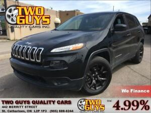 2015 Jeep Cherokee SPORT | V6 4X4| ALLOYS | POWER GROUP |