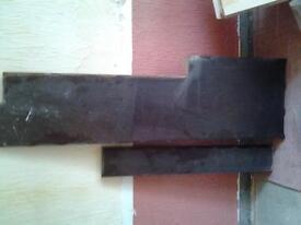 4 pieces of hardwood