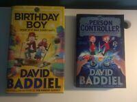 2 David Baddiel books: 'Birthday Boy' in hardback and 'The Person Controller'