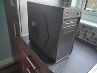 ASUS DESKTOP. ATHLON. RARELY USED. COMES with MICROSOFT WIRELESS KEYBOARD + MOUSE.