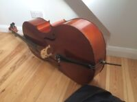 Full size 4/4 cello in good condition for sale.