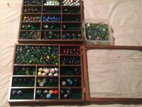 HUNDREDS of Glass Marbles
