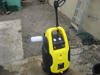 Combined air compressor and power washer - Cougar
