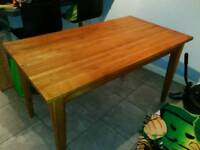 Solid oak kitchen/dining table