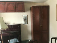 Double Wardrobe + 2No Matching Overbed Units