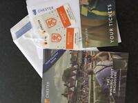 Tickets for Chester Horse Racing meeting (Ladies Day)