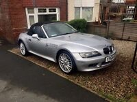 BMW Z3 1.9 2000 Roadster Convertible 12 Moths Mot Excellent Example 87k Miles Full Leather