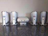Sony surround sound speakers, full set of 5 ,