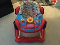 Baby Walker and Seat - Mothercare Car Style