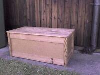 Wooden Storage Toy Box