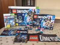 Lego Dimensions Starter Pack for XBOX 360 + Simpsons + Back to the Future Packs