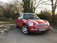 Stunning BMW Mini withLow miles and long mot, new clutch