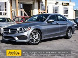 2015 Mercedes-Benz C-Class 300 4MATIC AGILITY SELECT PANO ROOF N