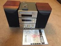 Teac H300 Stereo system with Mission Speakers