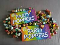*BARGAIN* 120 PARTY POPPERS