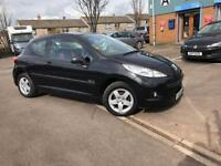 2010 PEUGEOT 207 VERVE 1.4 PETROL - ONLY DONE 19K- COMES WITH FULL YEAR MOT + 6 MONTHS WARRANTY