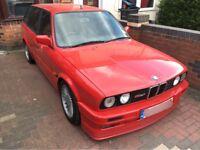 BMW E30 325I ALPINA REPLICA BREAKING SPARES OR REPAIRS GENUINE ALPINA ALLOYS