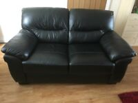Harveys 2 seater Leather sofa in black, excellent condition. Non smoker, no pets. Collection only.