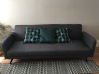 Made com Chou sofa bed in cygnet grey for sale