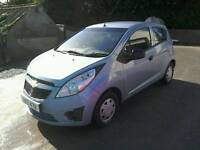 2011 Chevrolet Spark Plus 5 door Road Tax only £30 moted feb 18 ( can be viewed inside anytime)