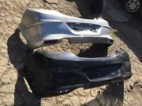 Vauxhall Astra 3dr 2007 onwards rear bumper + xp lip+ reflectors