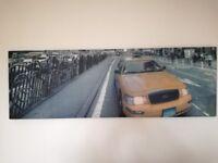 New York NY canvas painting