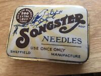 Full box of Songster Needles for gramophone Box in very good condition