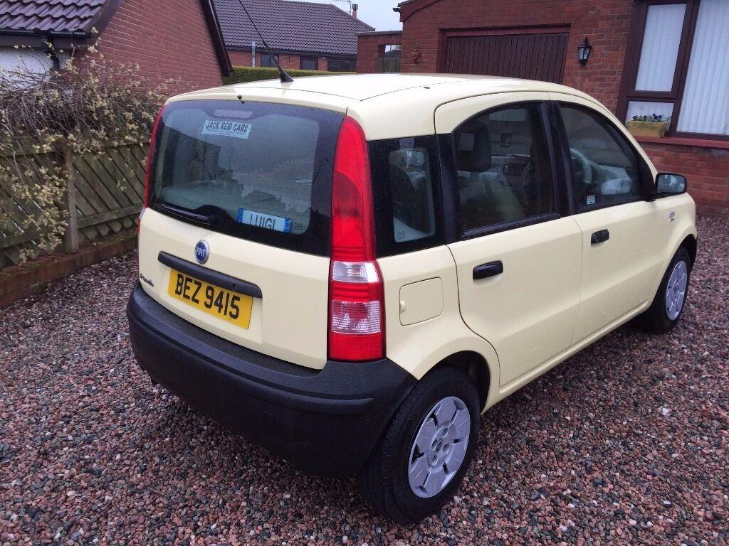 Fiat Panda Active 2005 2 0wners milage 75980 MOT April 2017