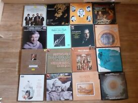 26 x classical box sets barbirolli, messiaen , karajan