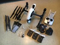 Drone DJI Inspire1 with X3 Camera / 3 Batteries / Case / Spare Parts
