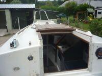 Yacht, Elizabethan 23, shallow keel.