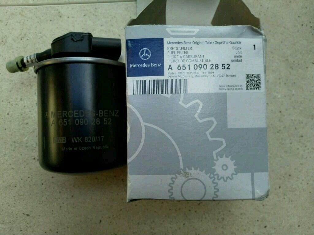 Mercedes E Class Fuel Filter Genuine In Lichfield Staffordshire Benz