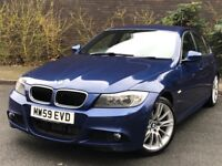 Bmw 320d m sport business edition face lift model 2010 high spec leathers sat nav good con/in/out