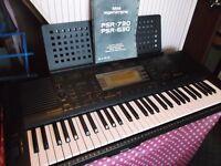 YAMAHA PSR 630 ELECTRONIC KEYBOARD + AMPLIFIER + SPEAKERS // PRICE DROP !!