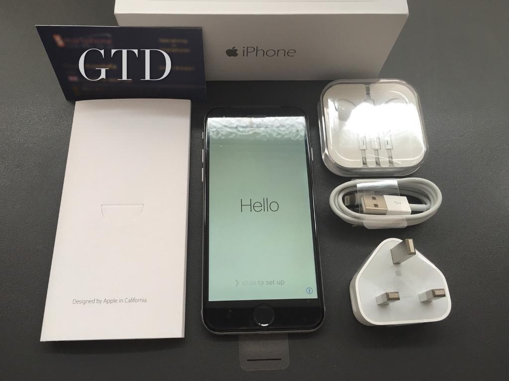 Unlocked brand new condition iPhone 6 16GB with full new accessories