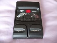 Digitech RP55 guitar effects pedal with Drum machine