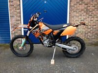KTM 250 EXC F - ONLY 1623 MILES