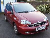 Daewoo Tacuma 2.0 CDX with Full Service history. One owner. Low mileage
