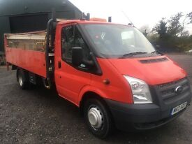2012 TRANSIT DROPSIDE WITH TAIL LIFT