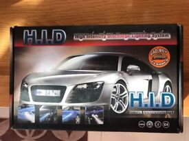 H4 HID Xenon Headlight Upgrade Kit (BRAND NEW / UNUSED / MODIFIED / CUSTOM) 6000k