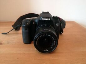 Canon EOS 70D 20.2MP Digital SLR Camera with Canon EF-S 18-55mm STM Lens - Boxed & Mint Condition