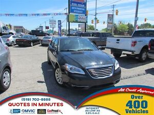 2013 Chrysler 200 TOURING | SAT RADIO | APPROVAL FOR ALL CREDIT